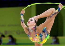 Anelliese Drăgan se califică în finala de la coardă, la gimnastică ritmică