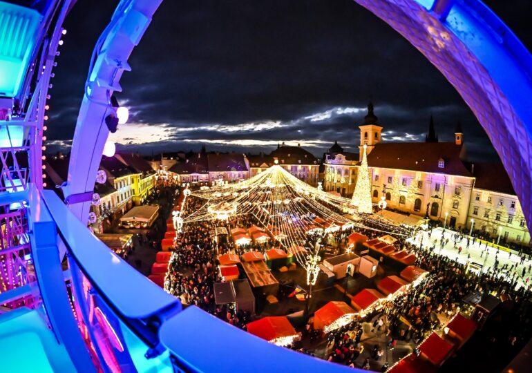 Târgul de Crăciun din Sibiu nu va avea loc în 2020, din cauza pandemiei