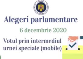 Precizări de la AEP pentru cei care vor să voteze cu urna mobilă la parlamentare