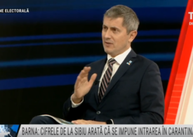 Barna spune că situaţia este tragică la Sibiu, unde autoritățile ar evita să carantineze orașul de teama lui Iohannis și Turcan