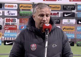 """Dan Petrescu, după înfrângerea lui CFR Cluj: """"Nu mi s-a întâmplat niciodată"""""""
