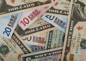 Euro atinge pentru a treia zi la rând un nou maxim istoric