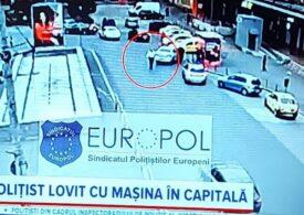 Șoferul care a lovit intenţionat un poliţist în zona Gării de Nord din Capitală este urmărit penal pentru ultraj