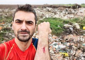 Alex Găvan acuză că angajaţi ai Primăriei Corbeanca descarcă ilegal deşeuri pe un câmp: Era să nu mai apuc scrierea acestui mesaj (Foto&Video)