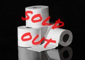 Rafturile cu hârtie igienică se golesc din nou în SUA, după ce au fost impuse noi restricții