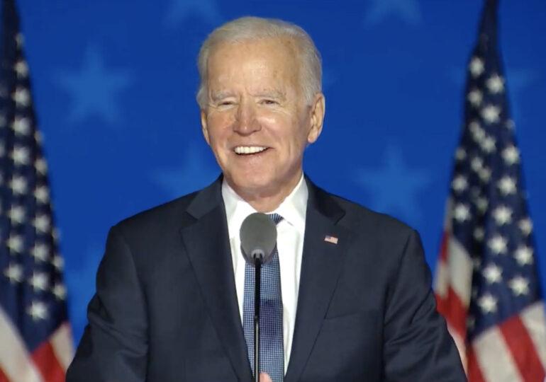 Joe Biden se declară onorat că a fost ales să conducă SUA
