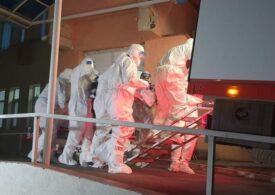 Pacienții transferați de la Piatra Neamț la Leţcani nu au arsuri, dar trei sunt în stare foarte gravă