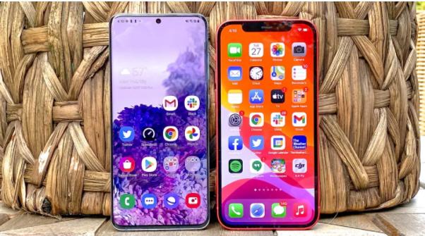 iPhone 12 vs. Samsung Galaxy S20: Care e mai tare?