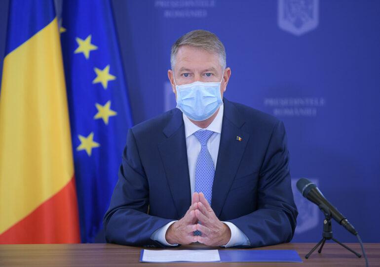 """Iohannis are motive de """"optimism moderat"""" după cele mai recente cifre ale pandemiei. Ce nu spune preşedintele"""