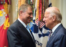 Iohannis i-a scris lui Biden: România este ferm alături de Statele Unite pentru a face față provocărilor actuale