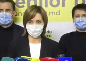 Mesajul transmis de Maia Sandu după alegerile prezidențiale pe care le-ar fi câștigat