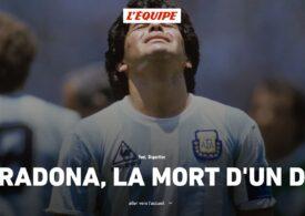Reacții din presa internațională după moartea lui Diego Maradona