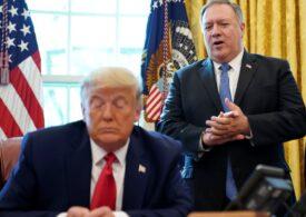 """Apele nu se liniștesc în SUA. Pompeo promite o """"tranziţie lină"""", dar spre o a doua administraţie Trump"""