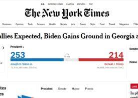 New York Times a depăşit pragul de 7 milioane de abonaţi