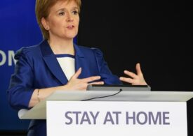"""De teama noii tulpini de coronavirus, Scoția intră într-o carantină severă, """"ca în martie"""""""