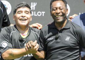 Mesajul emoționant al lui Pele după moartea lui Maradona