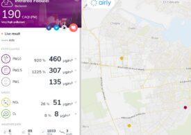 Poluare alarmantă în București? În unele zone, senzorii independenți arată depășiri de 1.200%. Ministerul Mediului analizează