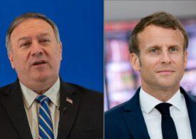 Emmanuel Macron se va întâlni cu Mike Pompeo, aflat în turneu în Europa şi Orientul Mijlociu: Care va fi agenda