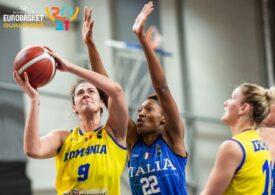 România a fost învinsă categoric de Italia, în preliminariile Campionatului European de baschet