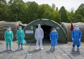 Încă trei spitale militare devin de suport COVID. A început înlocuirea corturilor cu containere în București, Constanța și Timișoara