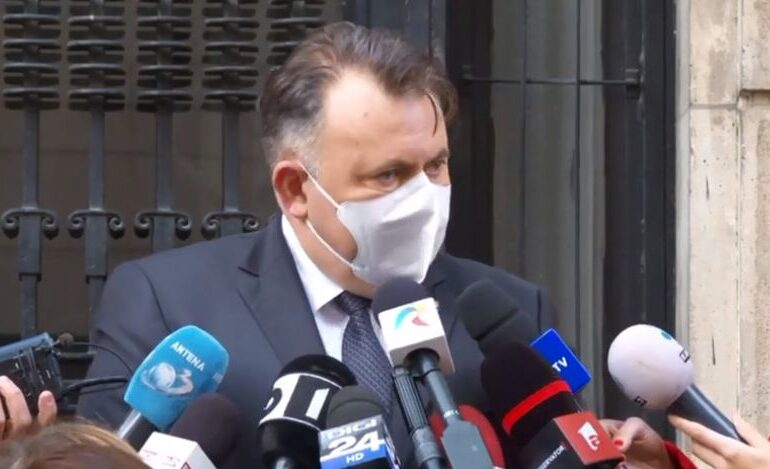 Nelu Tătaru: Vlad Voiculescu va fi chemat la audieri în Parlament, dacă Guvernul nu lămureşte problema listelor cu testarea pe judeţe