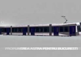 Cum vor arăta cele 100 de tramvaie noi pentru București? Astra Vagoane Arad a publicat primele imagini propuse