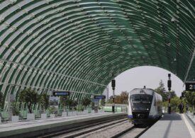 Trenul Gara de Nord - Otopeni are 600 de călători pe zi, deși traficul pe aeroport e de 10.000