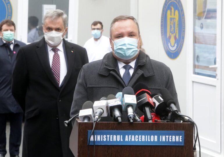 A fost inaugurat punctul de colectare de plasmă de la spitalul Gerota. Avertismentul premierului Ciucă înainte de Sărbători