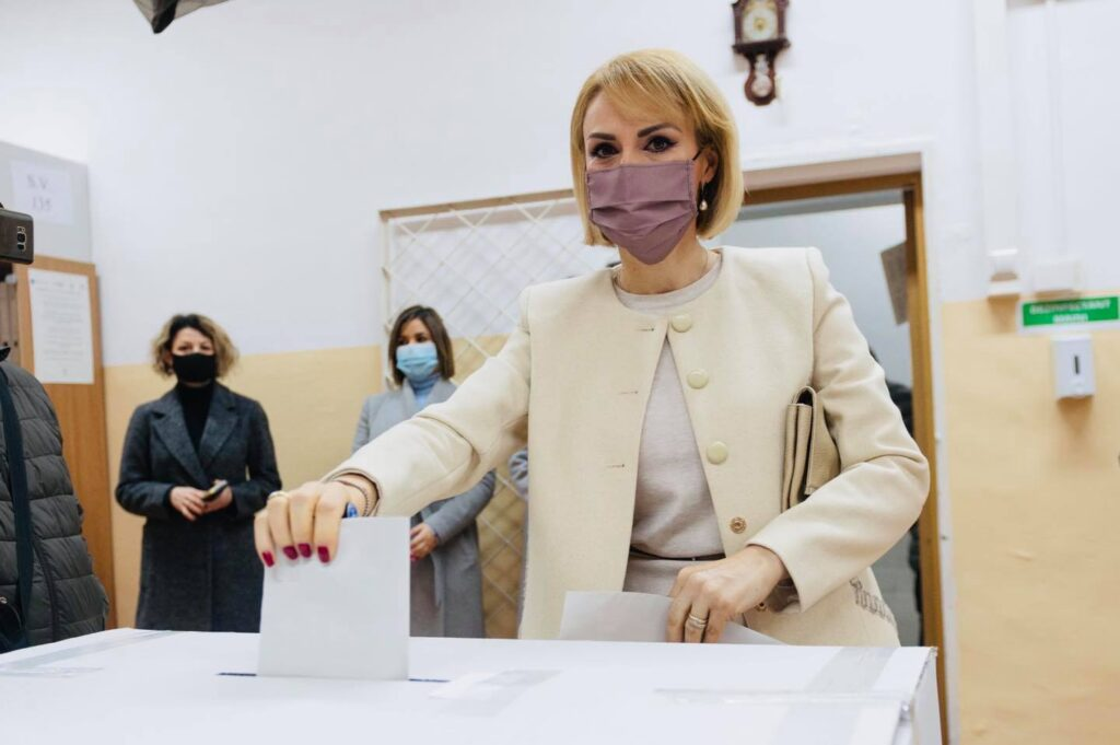 Gabriela Firea vot