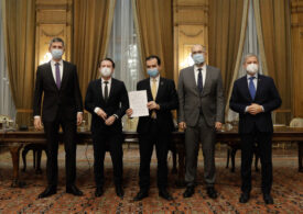 Liderii PNL, USR PLUS și UDMR au semnat Acordul de guvernare 2020 - 2024 (Foto&Video) Iată documentul integral