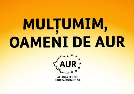 AUR a obținut peste 50% din voturi într-o localitate din Alba. La locale, câștiga primăria