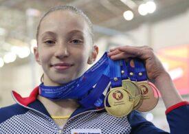 Junioara Ana Bărbosu a cucerit medaliile de aur în toate finalele pe aparate la Campionatul European de gimnastică