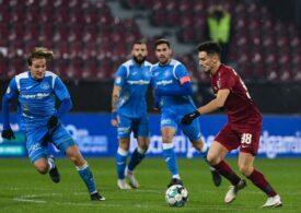Liga 1: Victorie pentru Edi Iordănescu la revenirea pe banca lui CFR Cluj