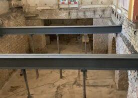 La reabilitarea Cazinoului din Constanța au fost descoperite dovezi că aici au lucrat foști deținuți politici