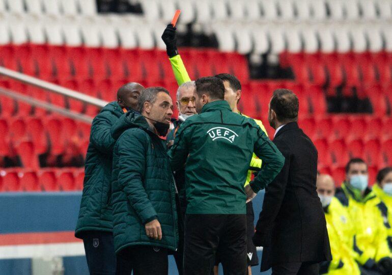 Sebastian Colțescu, suspendat drastic de UEFA după incidentul de la meciul PSG - Bașakșehir