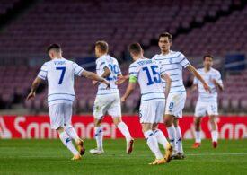 Dinamo Kiev, victorie în inferioritate numerică în Ucraina. Mircea Lucescu, lider în continuare