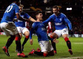 Reacțiile suporterilor entuziasmați ai lui Rangers după golul victoriei semnat de Ianis Hagi: Va deveni unul dintre cei mai buni jucători