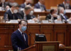 Cîţu merge cu bugetul în Parlament la sfârşitul lunii ianuarie şi exclude asumarea răspunderii