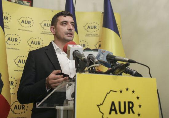 AUR, un partid care a crescut în două luni de la 0,77% la 9%. Indicii că ascensiunea e legată de serviciile de informații