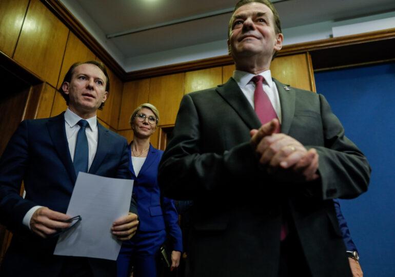 Guvernul Cîțu: Lista completă a miniștrilor PNL, USR-PLUS și UDMR