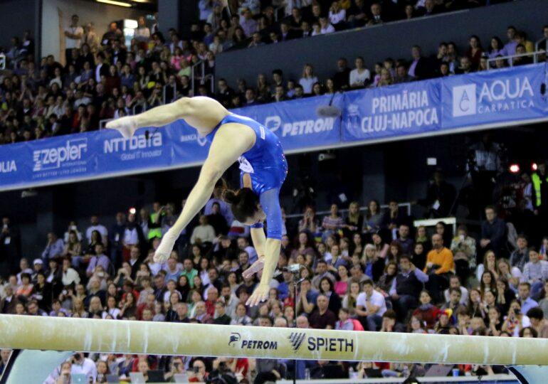 Larisa Iordache, campioană europeană la gimnastică, după o pauză de șapte ani