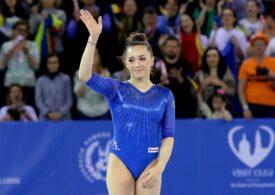 Medalie de argint pentru Larisa Iordache în finala la sărituri din cadrul Europenelor de gimnastică