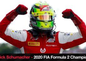 Mick Schumacher este noul campion mondial din Formula 2