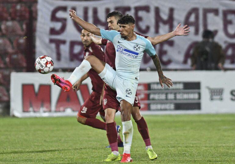 Liga 1: CFR Cluj învinge FCSB după un meci cu arbitraj controversat