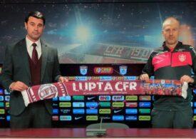 CFR Cluj și-a prezentat noul antrenor - oficial