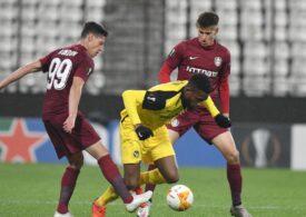 CFR Cluj, eliminată din Europa League după un penalti acordat cu mare ușurință