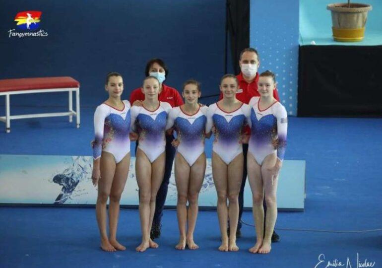 România, medaliată cu aur la Campionatele Europene de gimnastică pentru junioare