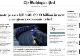 Washington Post anunţă o extindere a redacţiei sale la un nivel istoric, cu filiale în Europa şi Asia