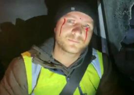 """Un activist de mediu din Suceava a fost atacat cu pietre, după ce a urmărit un transport suspect de lemne <span style=""""color:#ff0000;font-size:100%;"""">UPDATE</span> Reacția lui Marcel Vela"""