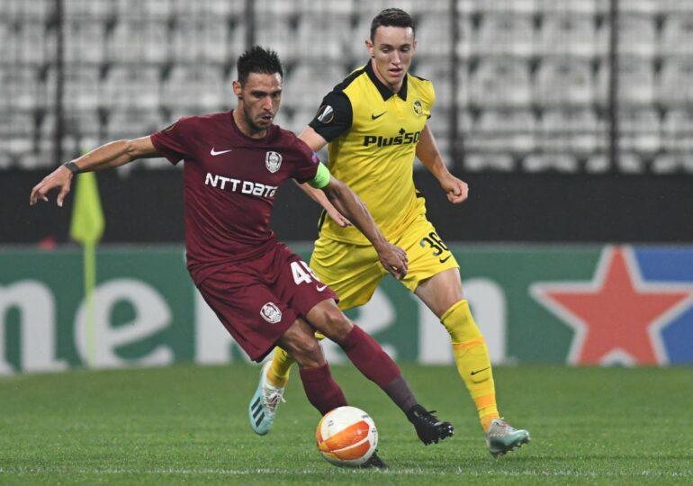 CFR Cluj s-a împiedicat de ȚSKA Sofia, în penultima etapă a grupelor Europa League